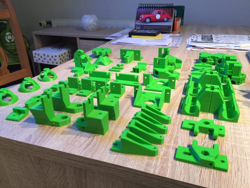 Funktionsbauteile Hypercube 3D-Drucker